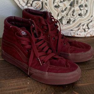 Vans Sk8-Hi Port Royale Mono Skate Shoe Size 6